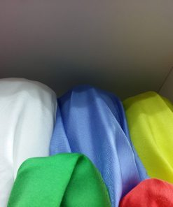 Organza colorata material
