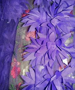 Organza flori 3D pret