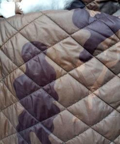 Captuseala matlasata camuflaj pret rola