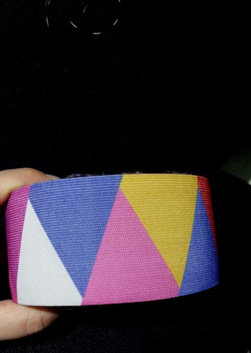 Banda elastica colorata ieftina
