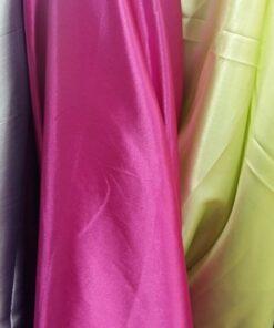 Satin colorat pentru rochii