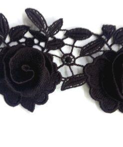 Benzi brodate flori 3D pret