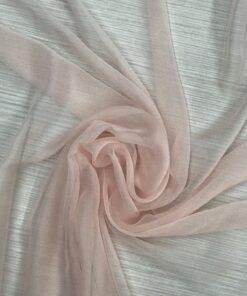roz pal 1 247x296 - Voal matase naturala roz pal