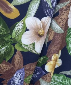Stofa cu flori la metru