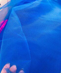 Tiul albastru la metru