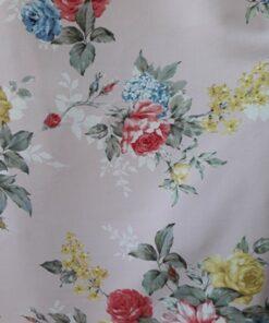 Triplu voal material textil