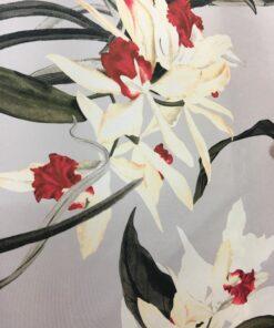 Tafta imprimata floral