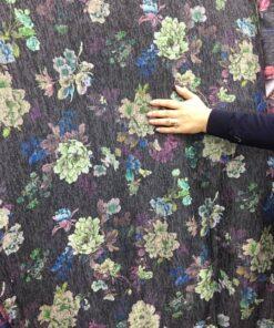 Jersey cu imprimeu floral