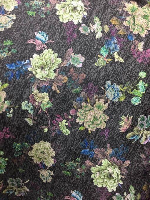 Jersey cu imprimeu flori