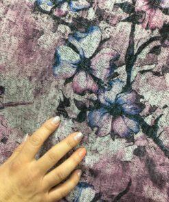Jersey cu flori de vanzare