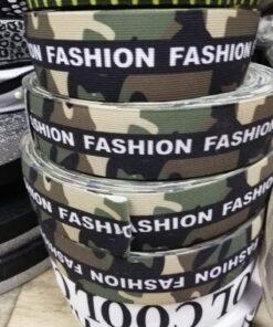 Banda elastica cu model