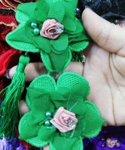 Floare brodata de cusut