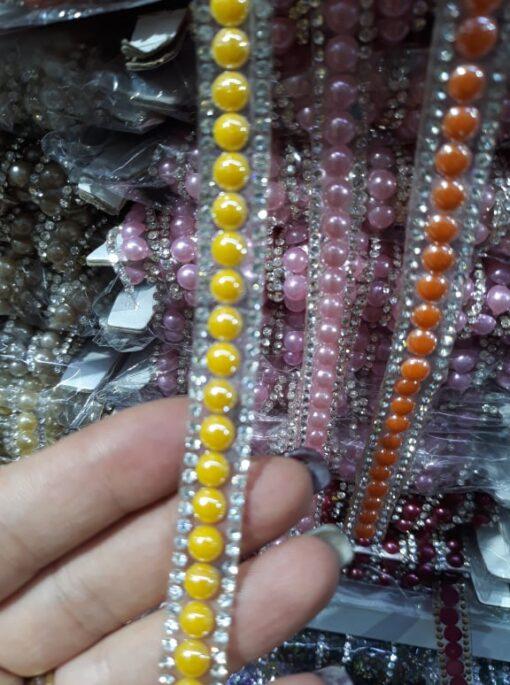 Aplicatie margele si stras 23419 9 510x685 - Aplicatie banda cu pietre si perle