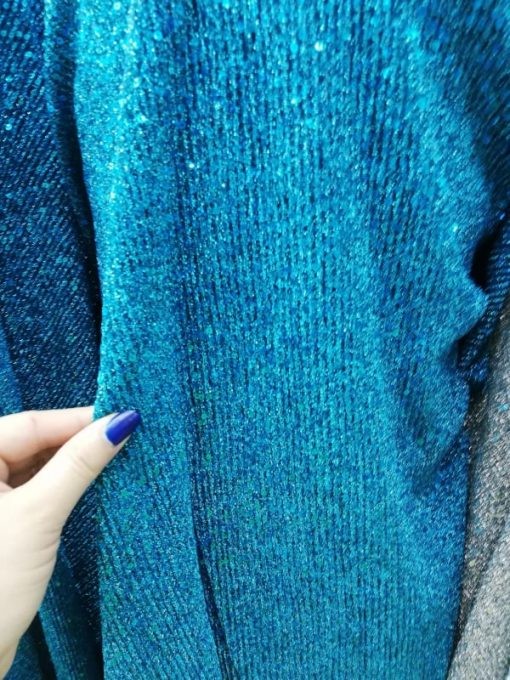 Jersey cu sclipici albastru5319 5 510x680 - Material jerse cu sclipici(video)
