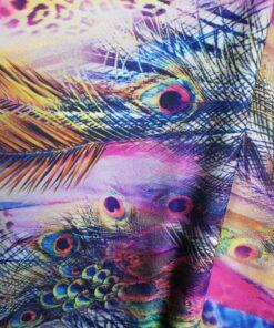 Lycra cu imprimeu colorat