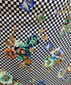Tesatura scafandru imprimeu floral