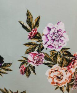 Scafandru cu flori rochii
