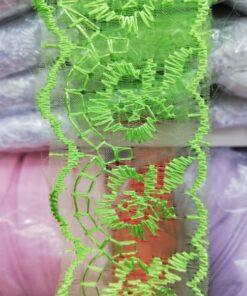 Banada brodata verde 21619 13 247x296 - Banda brodata cu patratele