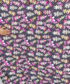 Material textil imprimat ieftin