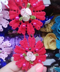 Banda floare brodata online