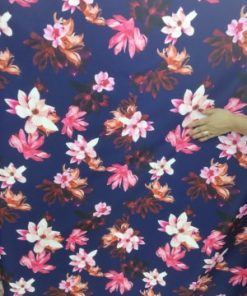 Material tafta imprimata rochii