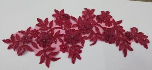 Banda floare de cusut