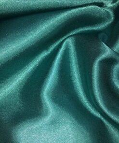 Saten elastic verde smarald