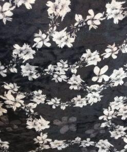 Catifea elastica cu flori