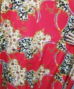 Material jersey pentru rochii