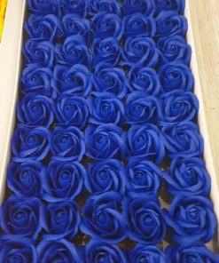 Trandafiri de sapun albastri