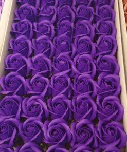 Trandafiri de sapun mov