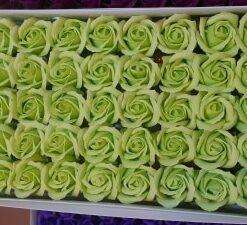 Flori de sapun verde