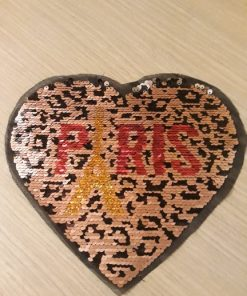 Aplicatie inima cu paiete
