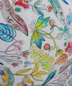 stofa subtire colorata