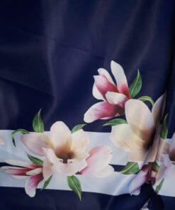 Tafta imprimata pentru rochii
