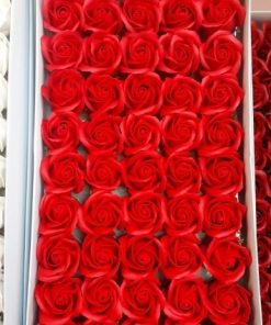 Trandafiri de sapun rosii
