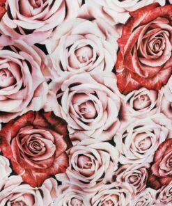 Tafta cu trandafiri