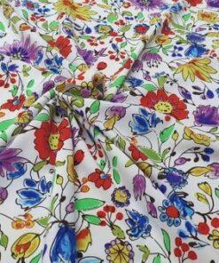 Vascoza cu imprimeu floral