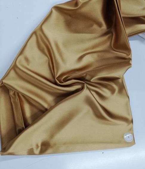 Saten auriu elastic
