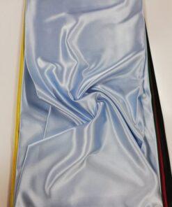 Saten elastic bleu
