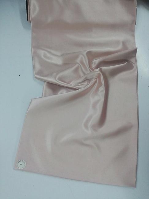 Saten elastic roz deschis