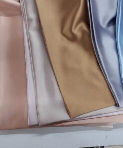 Saten elastic colorat