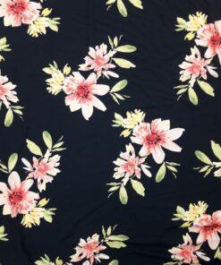 Vascoza cu flori imprimate