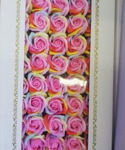 Flori de sapun colorate