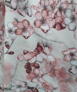 Vascoza sintetica cu flori