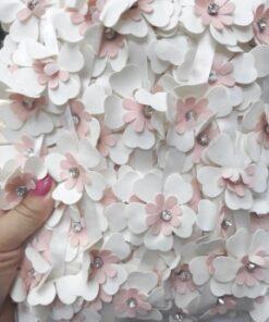 Floare din imitatie piele