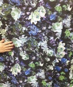 Material scafandru cu flori
