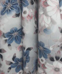 Stofa imprimata cu flori