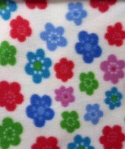 Material polar cu flori
