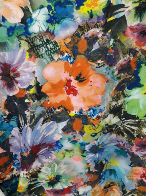 Scafandru flori colorate